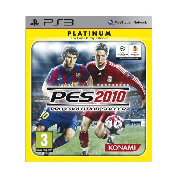 Pro Evolution Soccer 2010 [PS3] - BAZÁR (použitý tovar)