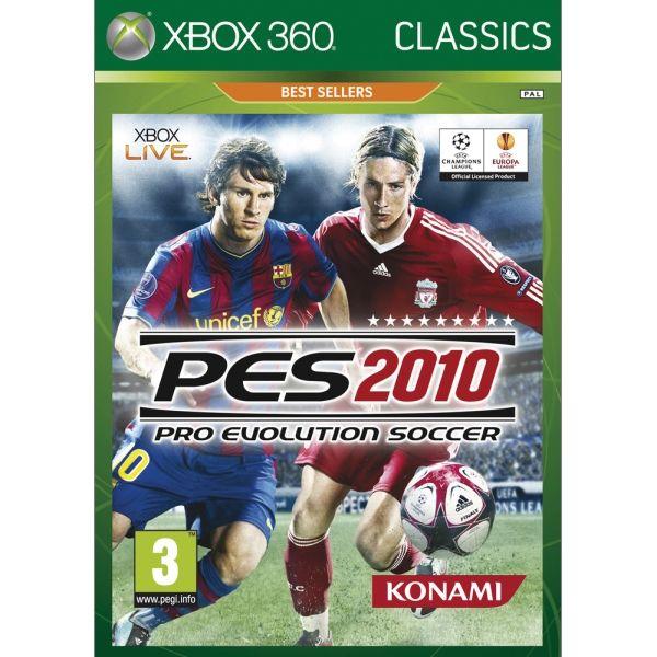 Pro Evolution Soccer 2010 [XBOX 360] - BAZÁR (použitý tovar)