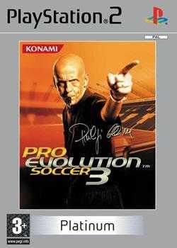 Pro Evolution Soccer 3 (Platinum) [PS2] - BAZÁR (použitý tovar)