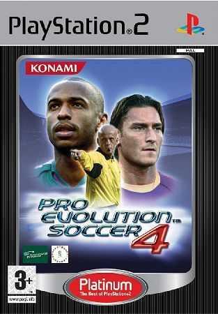 Pro Evolution Soccer 4 (Platinum) [PS2] - BAZÁR (použitý tovar)