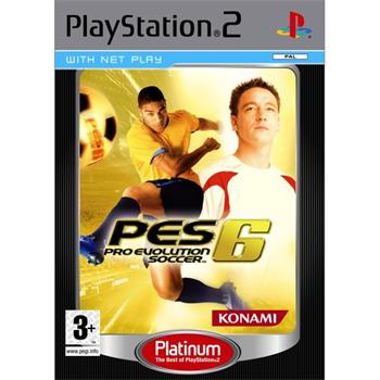 Pro Evolution Soccer 6 [PS2] - BAZÁR (použitý tovar)