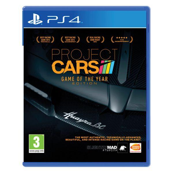 Project CARS (Game of the Year Edition) [PS4] - BAZÁR (použitý tovar)