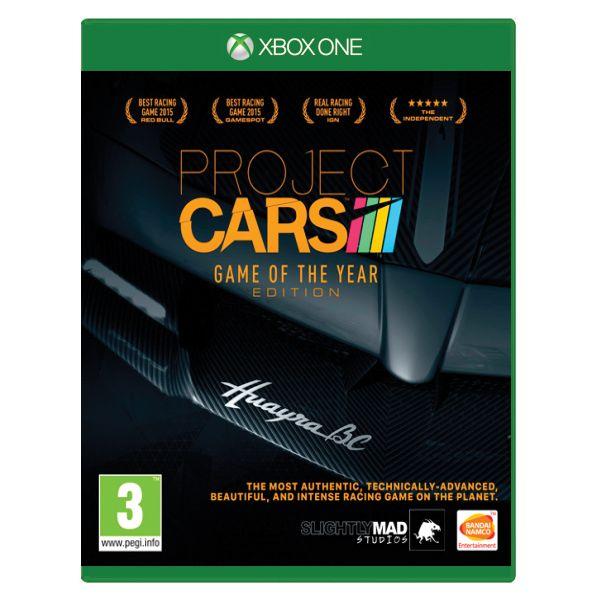 Project CARS (Game of the Year Edition) [XBOX ONE] - BAZÁR (použitý tovar)