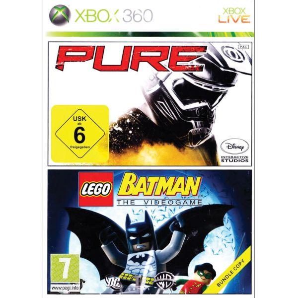 Pure + Lego Batman: The Videogame [XBOX 360] - BAZÁR (použitý tovar)