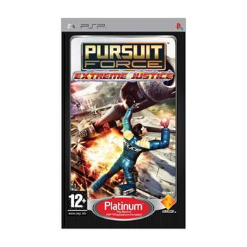 Pursuit Force: Extreme Justice [PSP] - BAZÁR (použitý tovar)