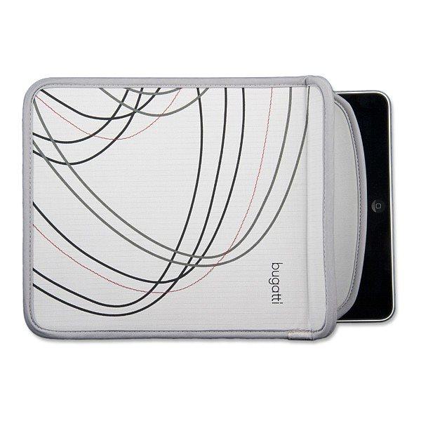 Puzdro Bugatti Sleeve pre Samsung Galaxy Tab 4 10.1 VE - T533, Grey