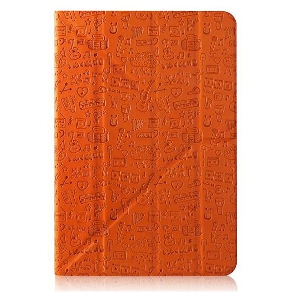 "Puzdro Canyon ""Life Is"" CNS-C24UT10 pre Lenovo Tab 2 A10 - A10-30, Orange"