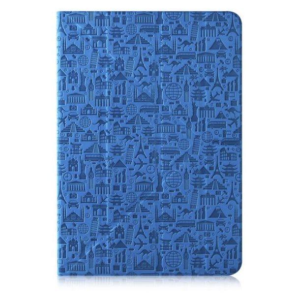 "Puzdro Canyon ""Life Is"" CNS-C24UT7 pre Apple iPad Mini 4, Blue"