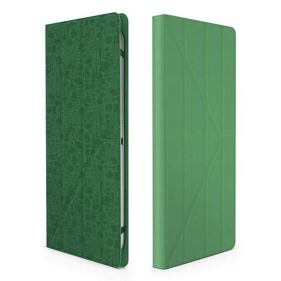 "Puzdro Canyon ""Life Is"" CNS-C24UT7 pre Apple iPad Mini 4, Green"