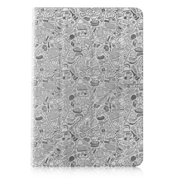 "Puzdro Canyon ""Life Is"" CNS-C24UT7 pre Apple iPad Mini 4, Light Grey"
