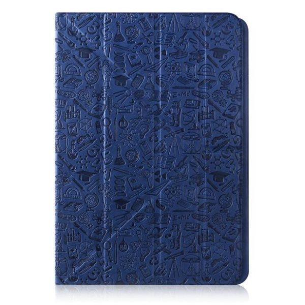 "Puzdro Canyon ""Life Is"" CNS-C24UT7 pre Apple iPad Mini 4, Navy Blue"