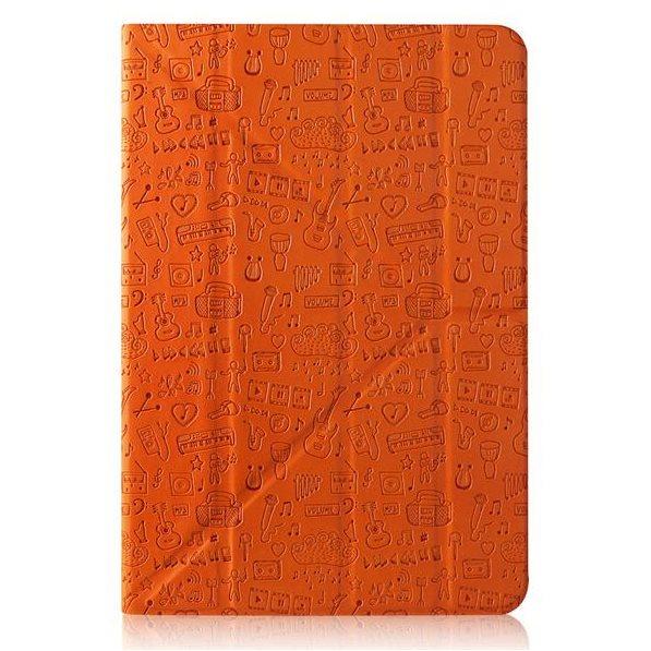 "Puzdro Canyon ""Life Is"" CNS-C24UT7 pre Apple iPad Mini 4, Orange"