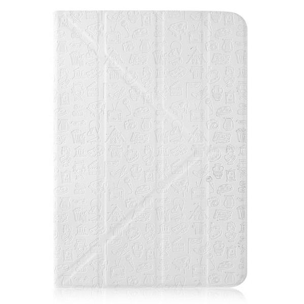 "Puzdro Canyon ""Life Is"" CNS-C24UT7 pre Apple iPad Mini 4, White"