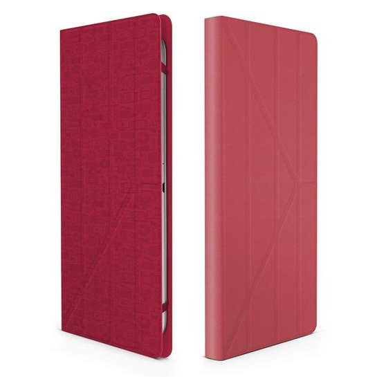 """Puzdro Canyon """"Life Is"""" CNS-C24UT7 pre Huawei MediaPad M2 8.0, Red"""