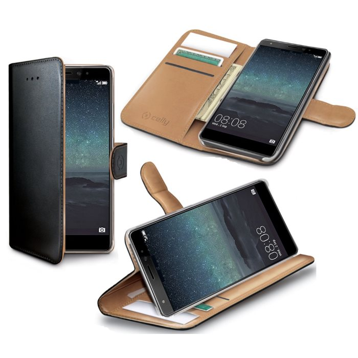 Puzdro Celly Wally pre Huawei Ascend Mate S, Black