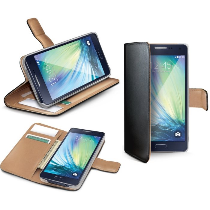 Puzdro Celly Wally pre Samsung Galaxy J1 - J100, Black