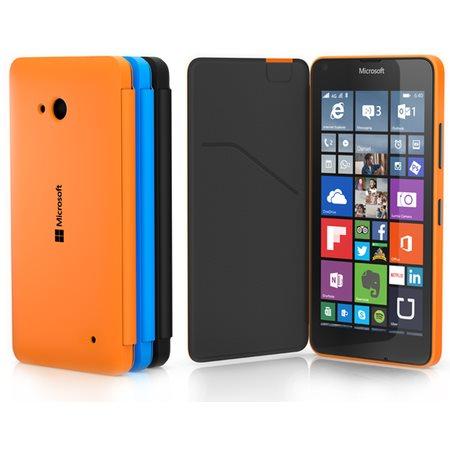 Puzdro Flip Case CC-3090 pre Microsoft Lumia 640 XL a 640 XL LTE, Orange