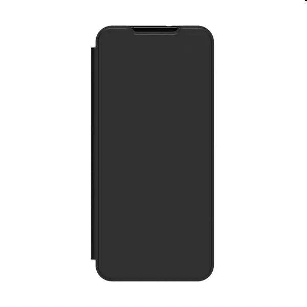 Puzdro Flip Wallet Cover pre Samsung Galaxy A12 - A125F, black (GP-FWA125AM)