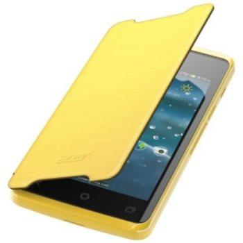 Puzdro flipové originálne pre Acer Liquid Z200, Yellow