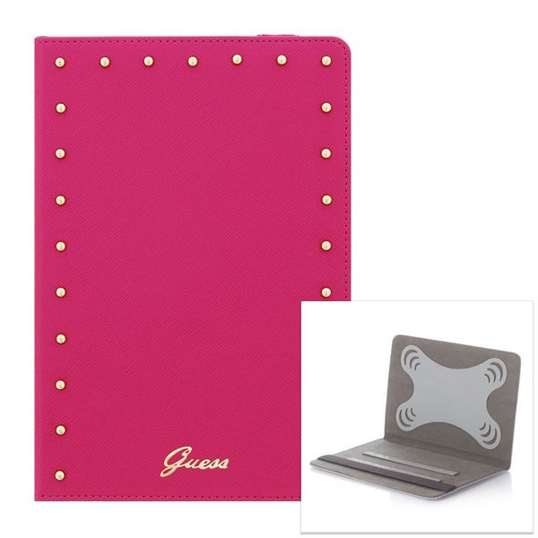 Puzdro Guess Studded pre PocketBook SURFpad 4 L, Pink