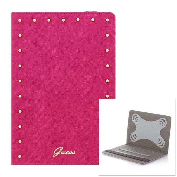 Puzdro Guess Studded pre Samsung Galaxy Tab 4 10.1 - T530, Pink