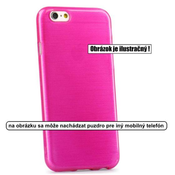 Puzdro Jelly Case Brush pre Microsoft Lumia 950, Pink