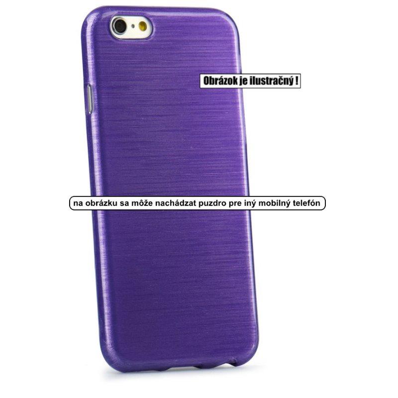 Puzdro Jelly Case Brush pre Microsoft Lumia 950 XL, Violet