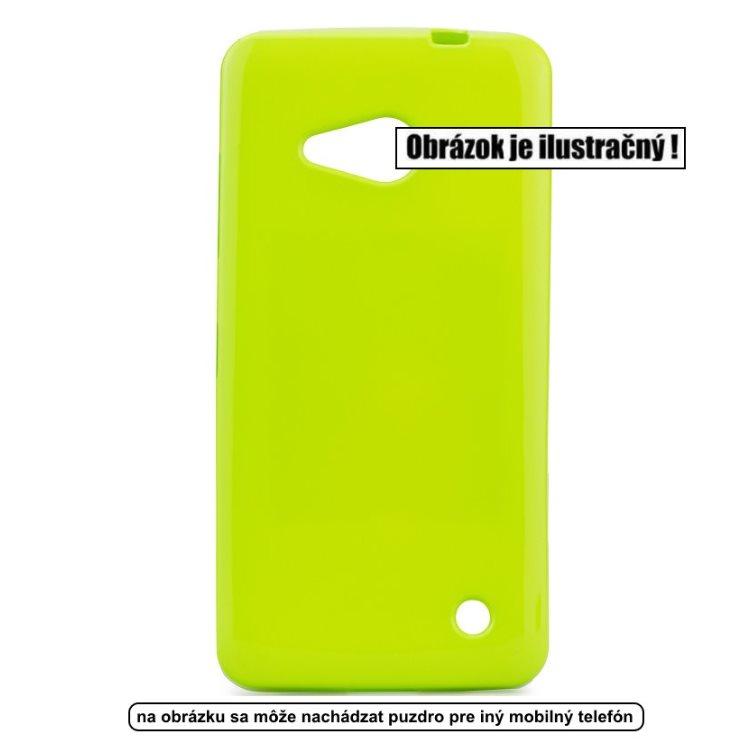 Puzdro Jelly Case Flash pre Microsoft Lumia 550, Lime