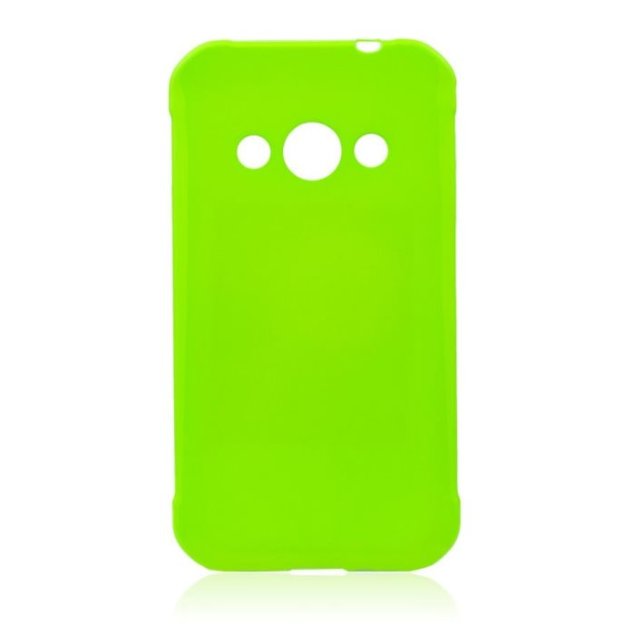 Puzdro Jelly Case pre Samsung Galaxy Xcover 3 - G388F, Lime