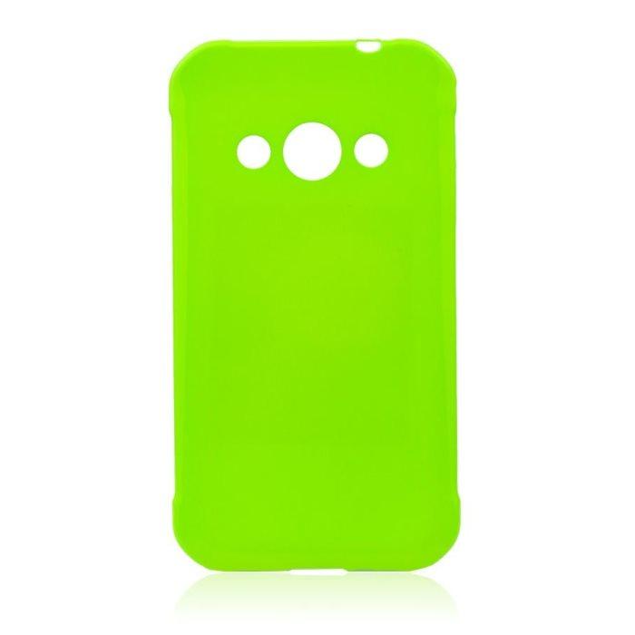 Puzdro Jelly Case pre Samsung Galaxy Xcover 3 - G388F, Lime