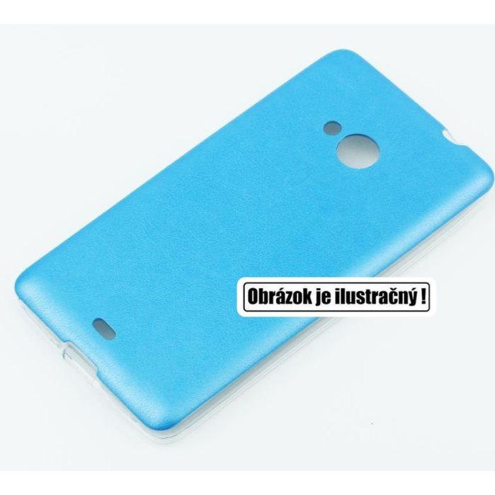 Puzdro Jelly Leather pre Microsoft Lumia 640 a 640 LTE, Blue