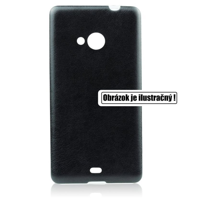 Puzdro Jelly Leather pre Samsung Galaxy Xcover 3 - G388F, Black