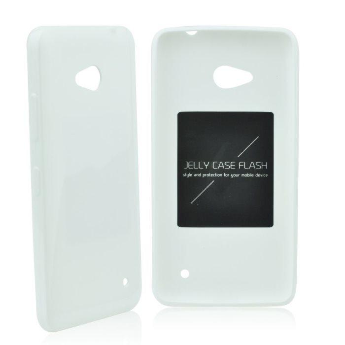 Puzdro Jelly Mercury Flash pre Samsung Galaxy S6 - Edge - G925F, White