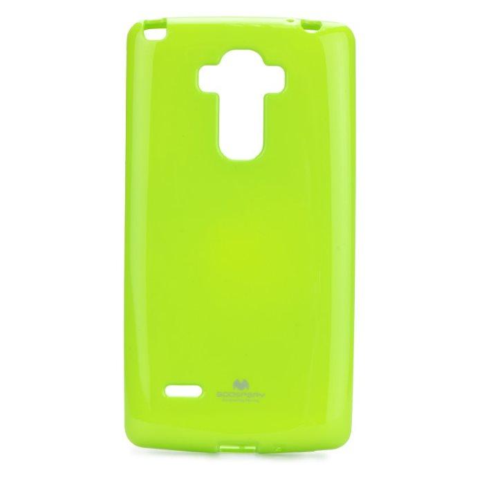 Puzdro Jelly Mercury pre LG G4 Stylus - H635, Lime