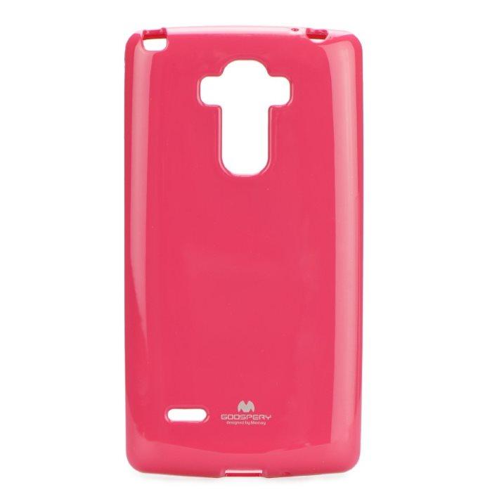 Puzdro Jelly Mercury pre LG G4 Stylus - H635, Pink