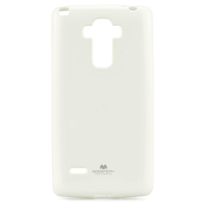 Puzdro Jelly Mercury pre LG G4 Stylus - H635, White