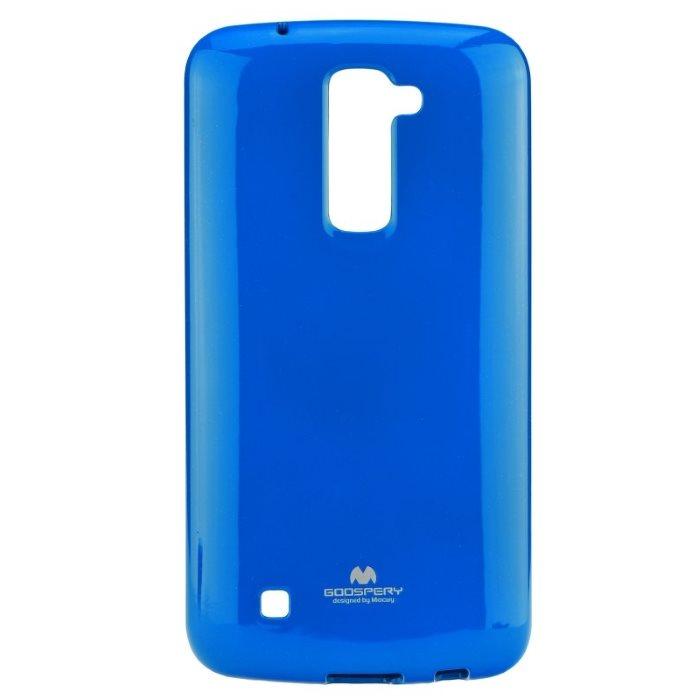 Puzdro Jelly Mercury pre LG K10 - K420n, Blue