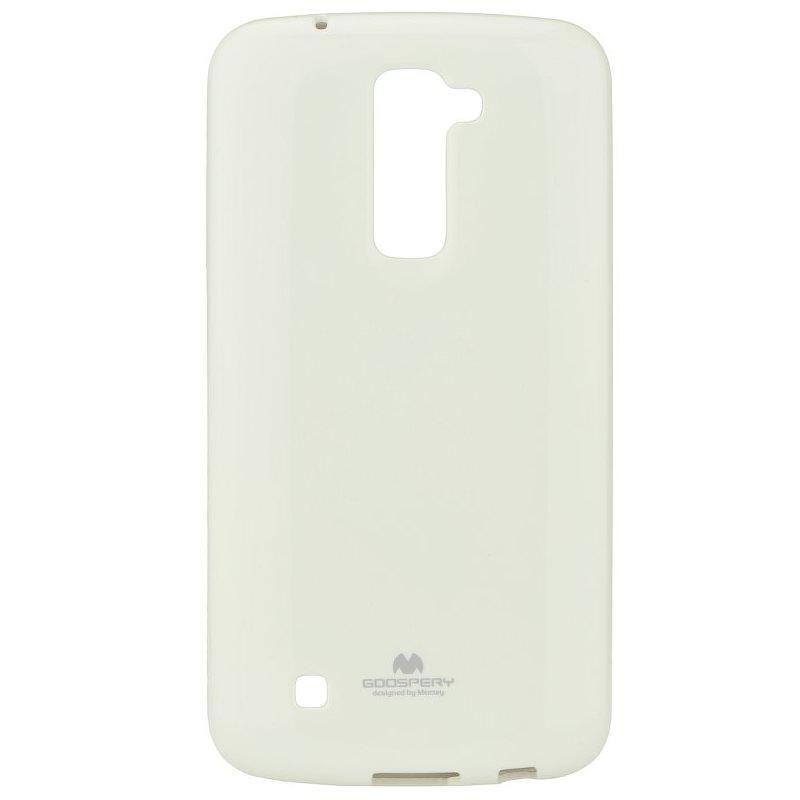 Puzdro Jelly Mercury pre LG K10 - K420n, White