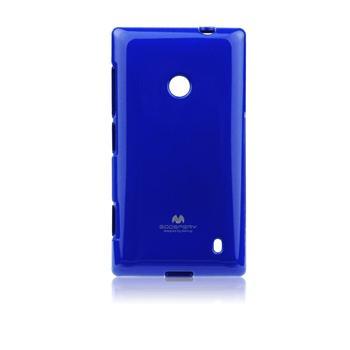 Puzdro Jelly Mercury pre Microsoft Lumia 535, Light Blue
