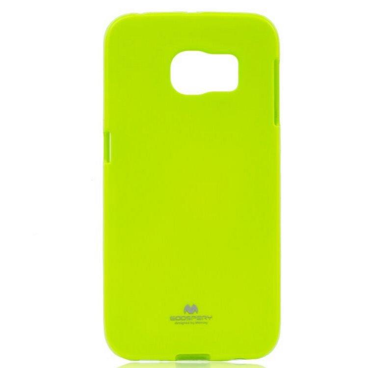 Puzdro Jelly Mercury pre Samsung Galaxy S6 Edge+ - G928F, Lime