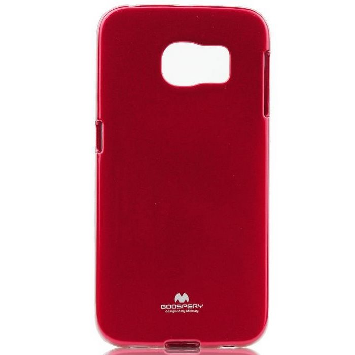 Puzdro Jelly Mercury pre Samsung Galaxy S6 Edge+ - G928F, Red