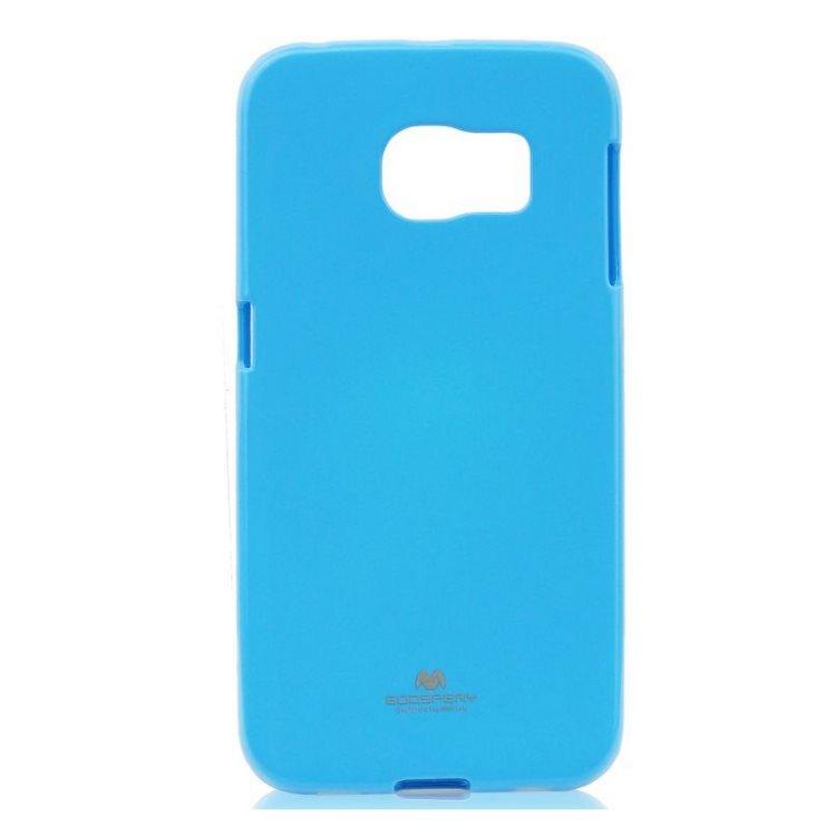 Puzdro Jelly Mercury pre Samsung Galaxy S6 Edge+ - G928F, Sky Blue