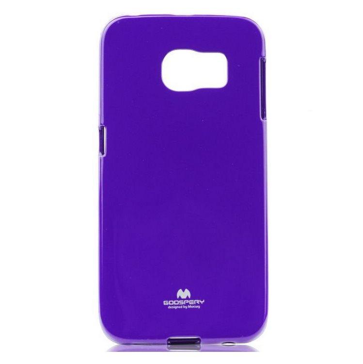Puzdro Jelly Mercury pre Samsung Galaxy S6 Edge+ - G928F, Violet