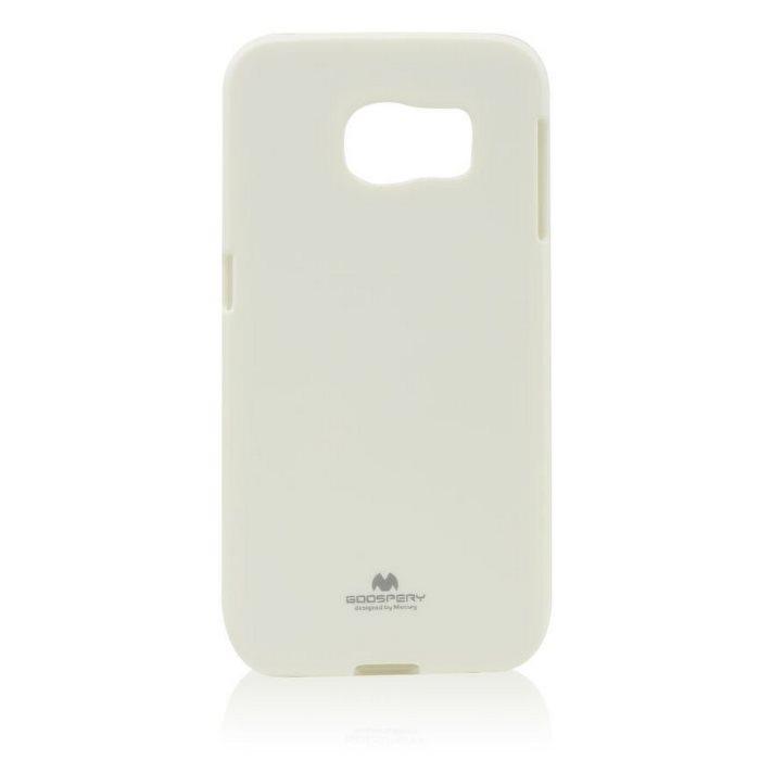 Puzdro Jelly Mercury pre Samsung Galaxy S6 Edge+ - G928F, White