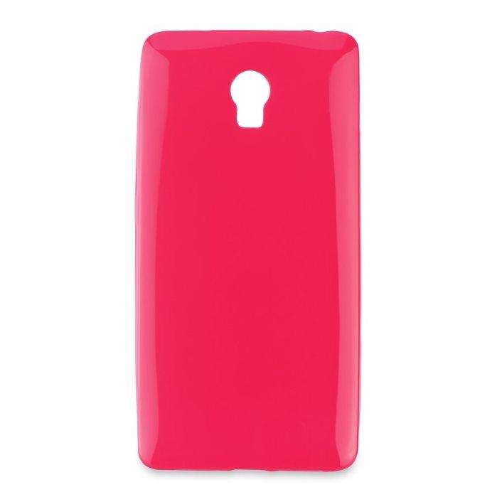 Puzdro Jelly Mercury ultra tenké 0,3mm pre Lenovo Vibe P1, Pink
