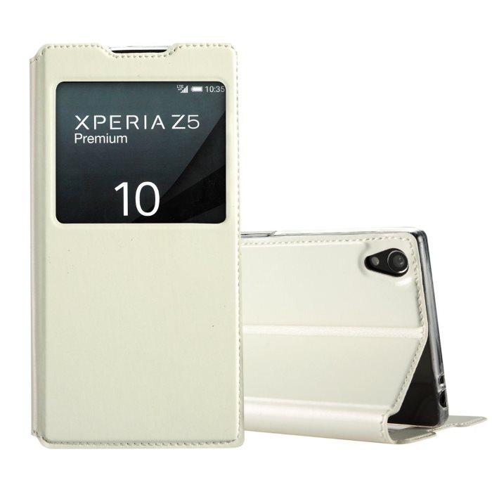 Puzdro Kalaideng Sun pre Sony Xperia Z5 Premium - E6853, White