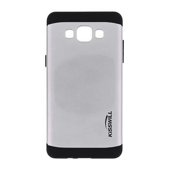Puzdro Kisswill Slim Armor pre Samsung Galaxy A5 - A500F, Silver