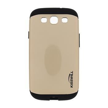 Puzdro Kisswill Slim Armor pre Samsung Galaxy S3 - i9300, Gold