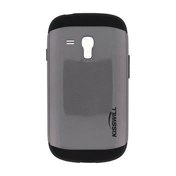 Puzdro Kisswill Slim Armor pre Samsung Galaxy S3 Mini - i8190 a S3 Mini VE, Grey