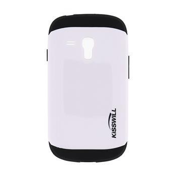Puzdro Kisswill Slim Armor pre Samsung Galaxy S3 Mini - i8190 a S3 Mini VE, White
